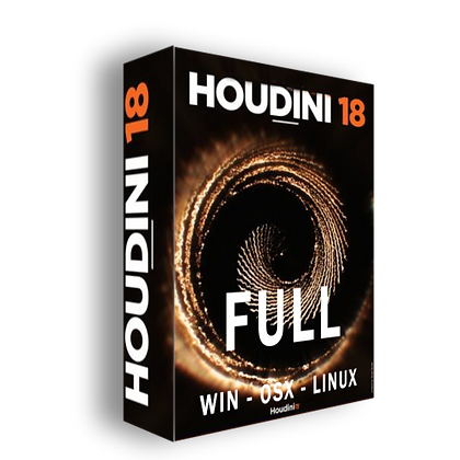 SideFX Houdini 18 / Win - OSX - Linux