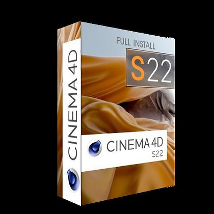 CINEMA 4DS22 Full install
