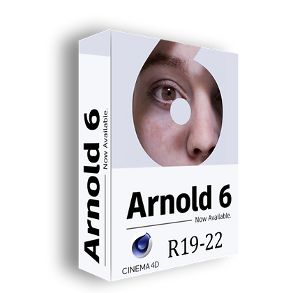 Arnold 6 - Cinema 4D to Arnold v3.0.3.1 R19-R22 [WIN MAC]