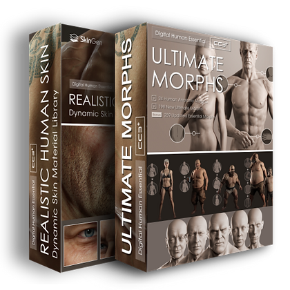 Reallusion Realistic Human Skin+ Ultimate Morphs