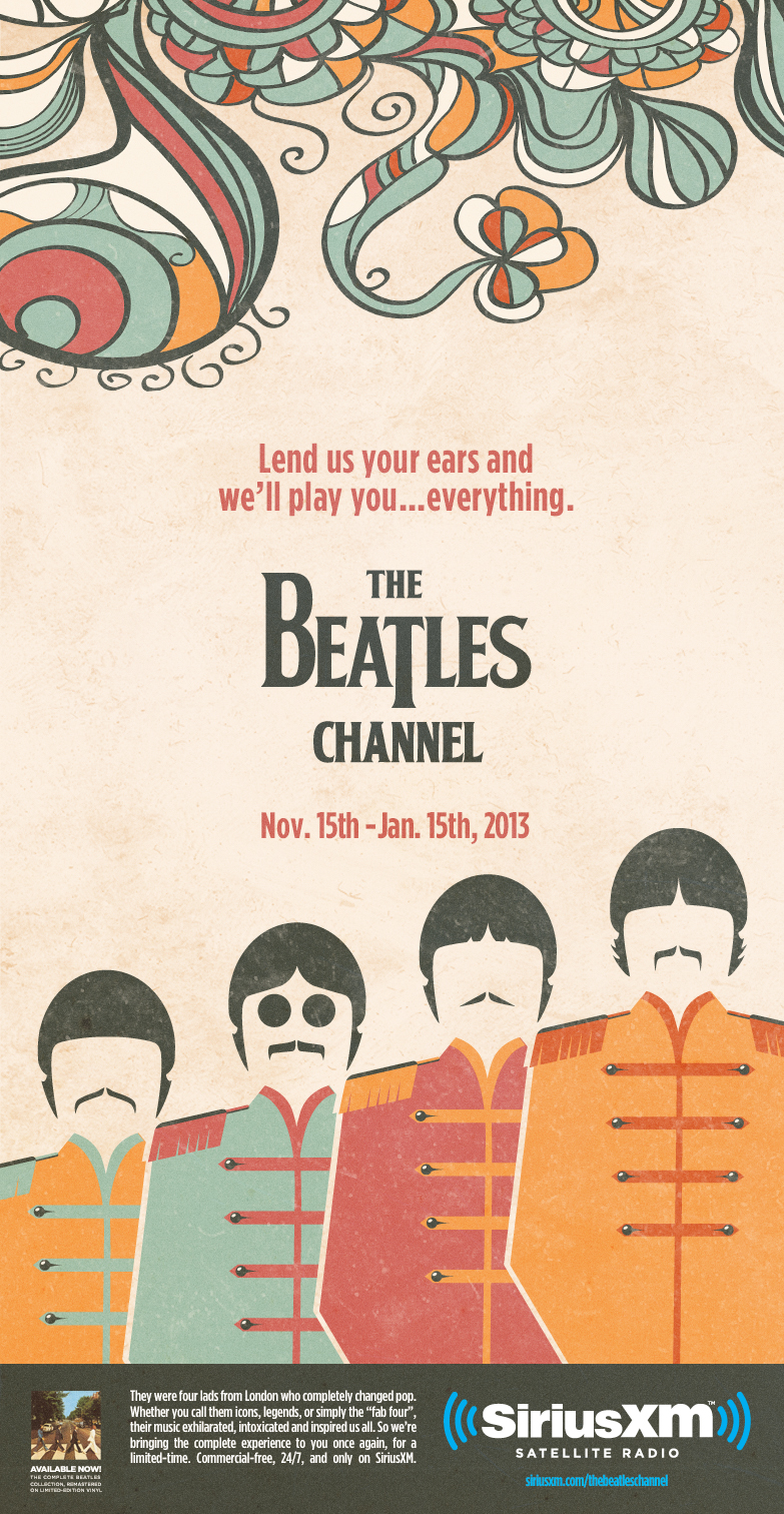 Beatles Channel Poster