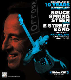 Bruce Springsteen Event Poster