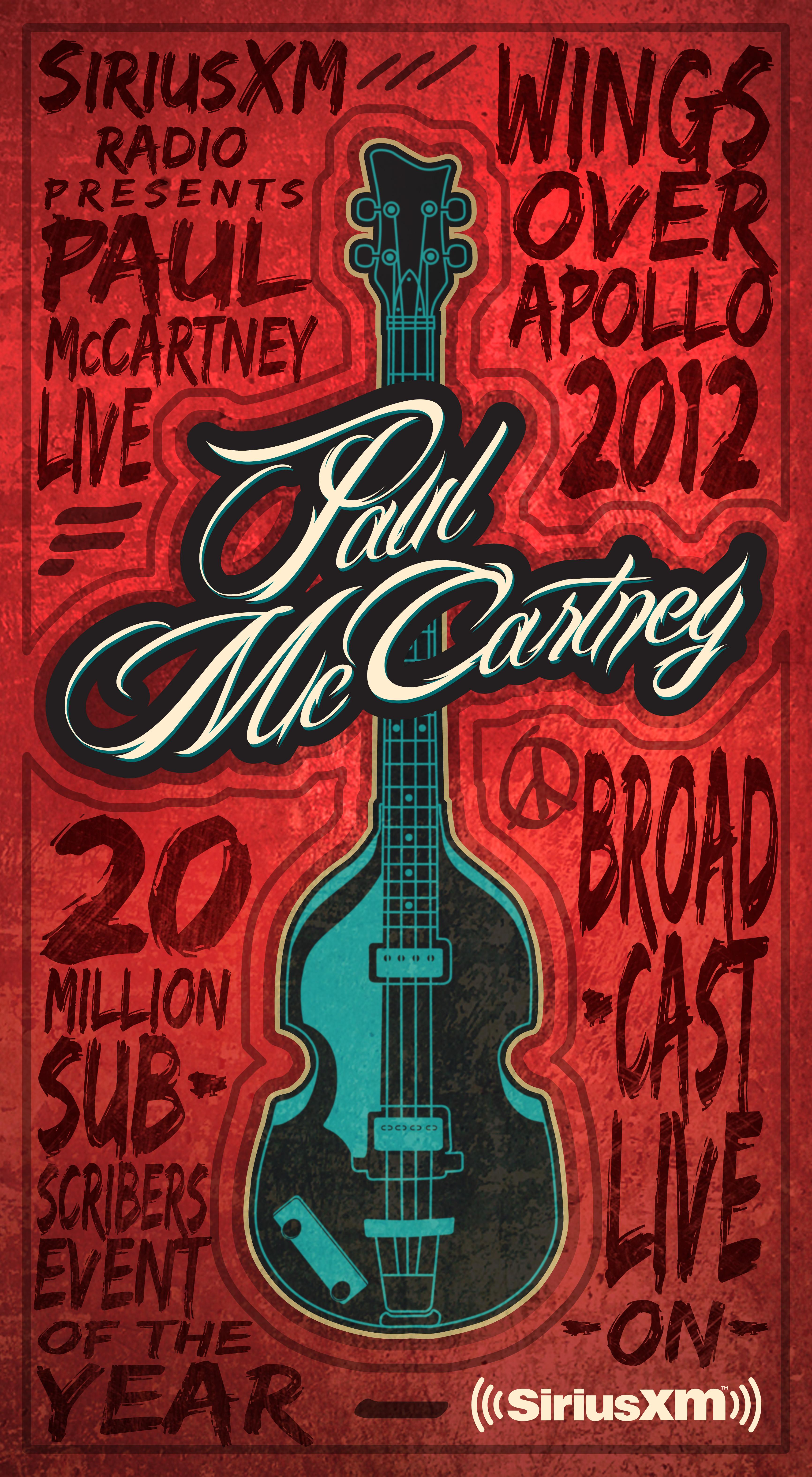 Paul McCartney Event Key Art