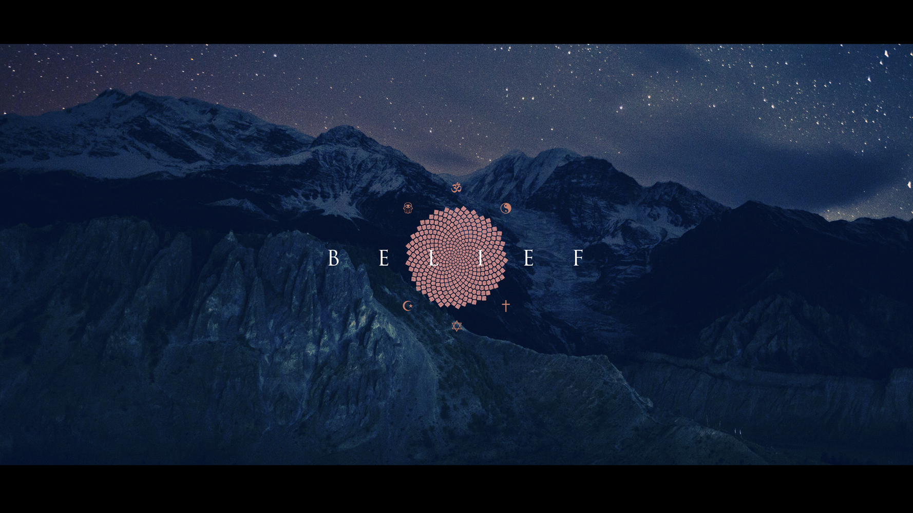 Belief - Intro style frame