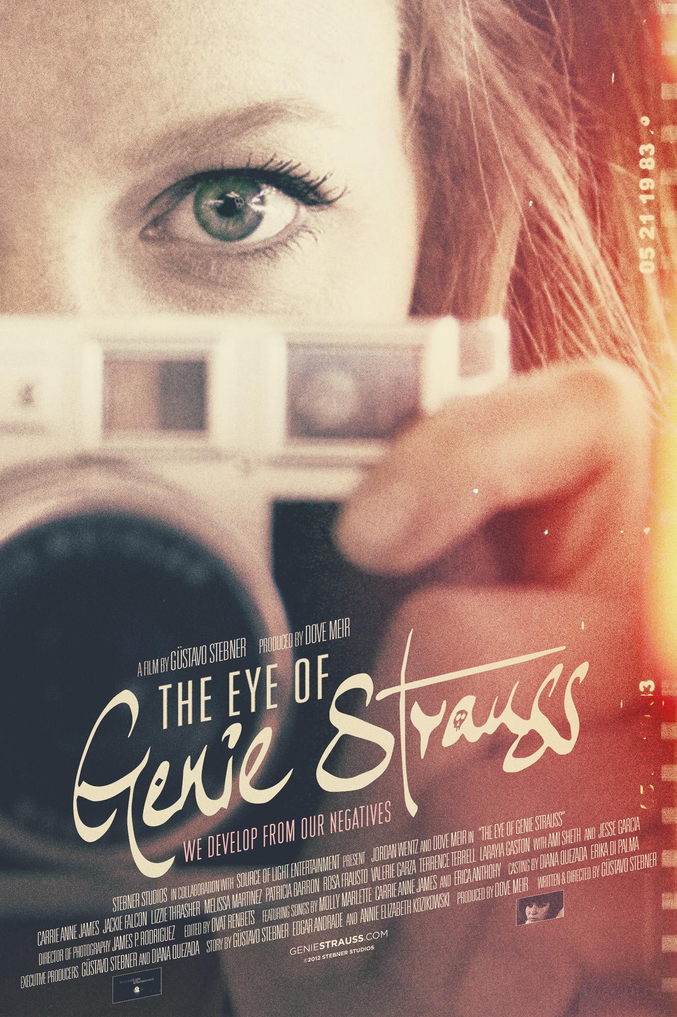 The Eye of Genie Strauss Film Poster