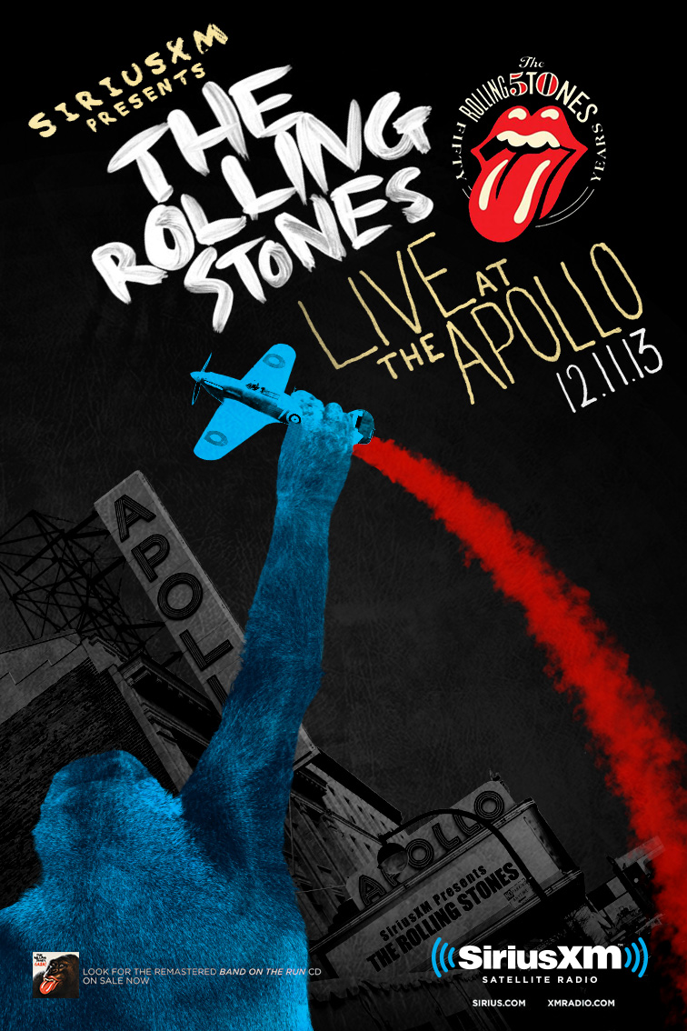 Rolling Stones Event Poster