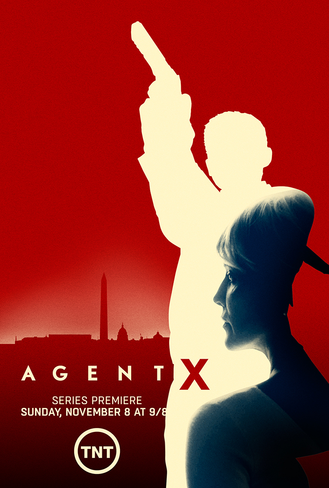 TNT's Agent X key art exploration