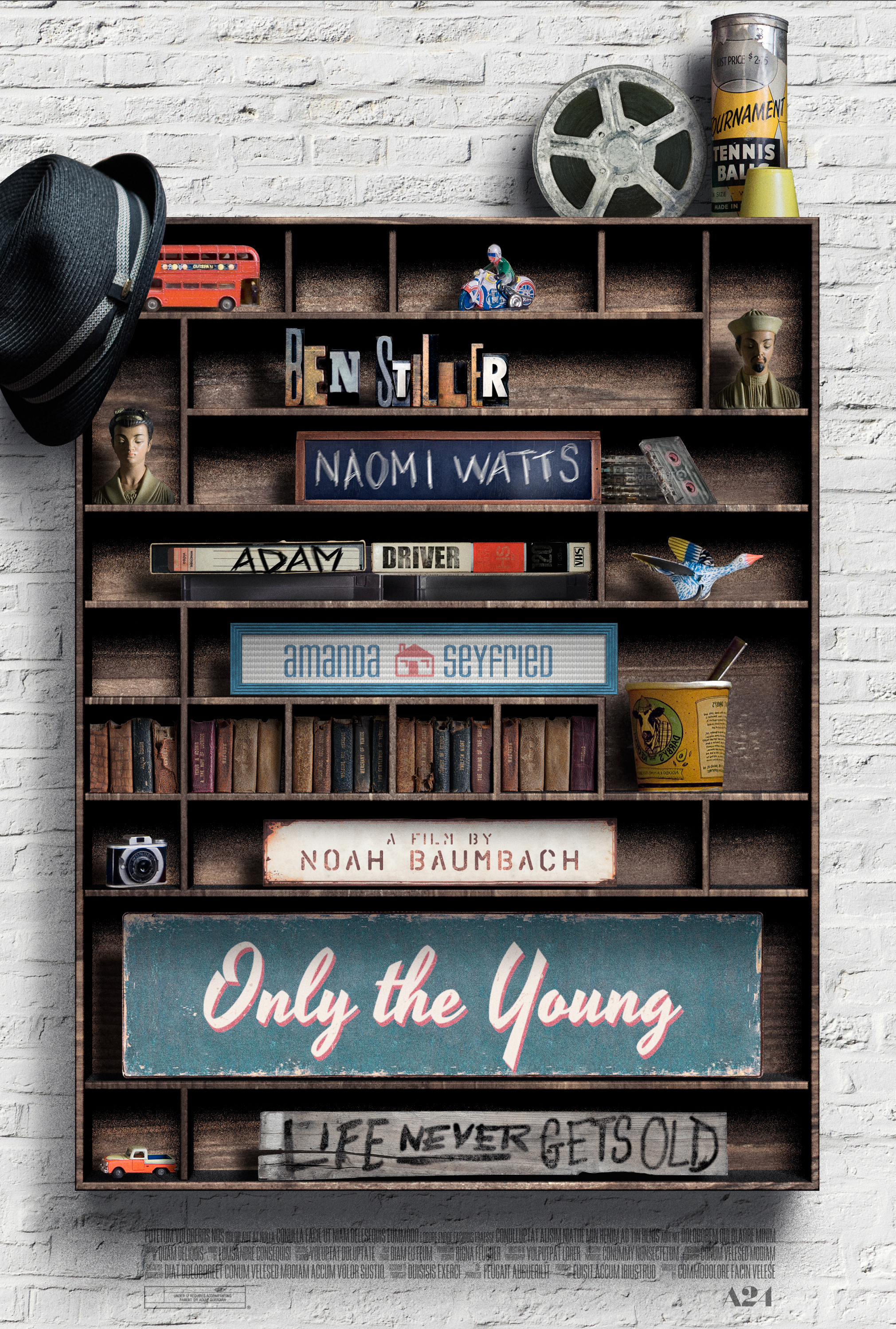 Only the Young key art