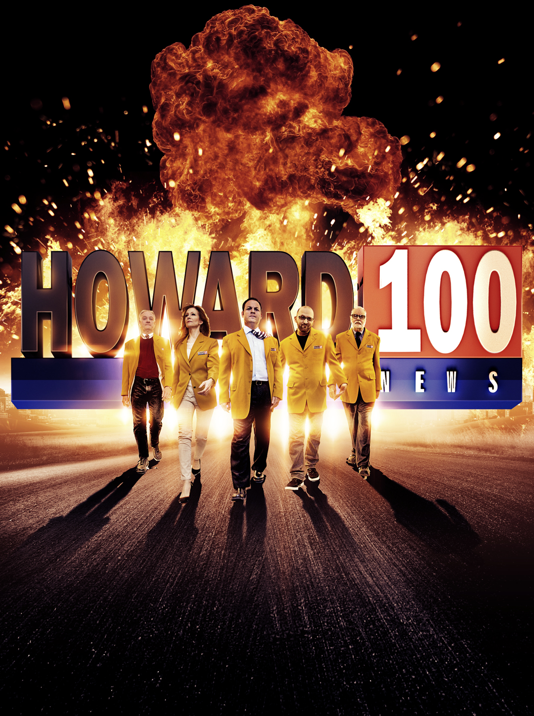 Howard 100 News key art