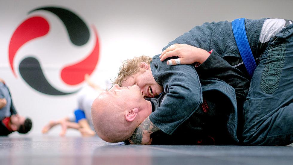 Brasiliansk jiu-jitsu trening i bergen