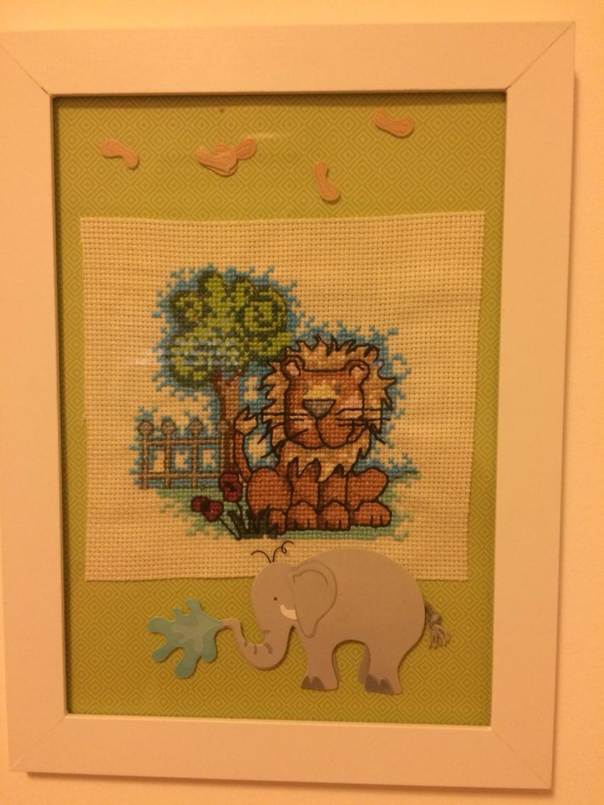 quadro Fe elefante