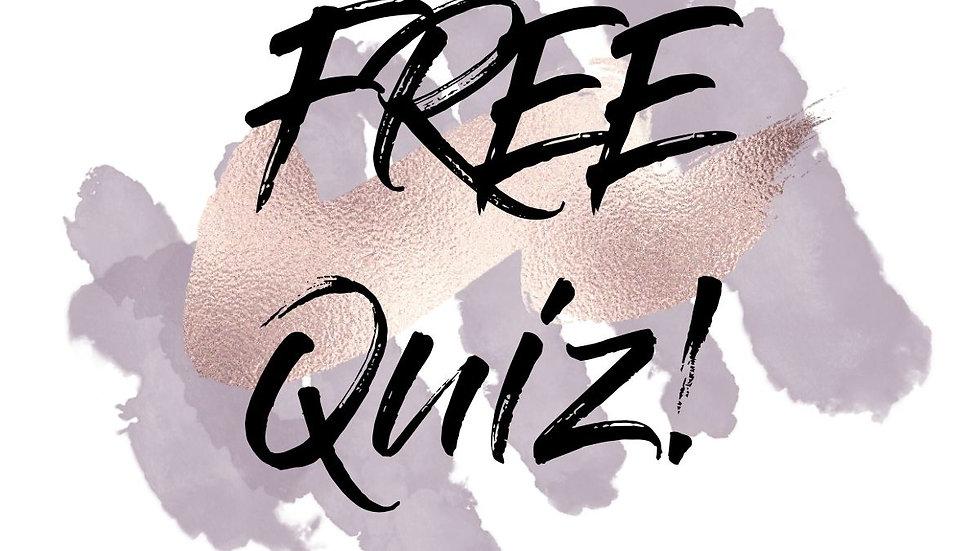 FREE CPTSD Quiz