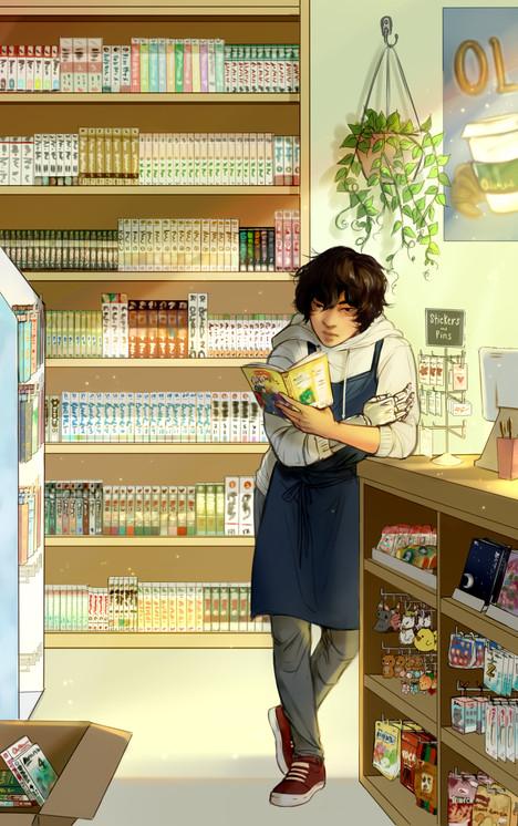 Hyun Bookstore light 2 finished ahhh..jp