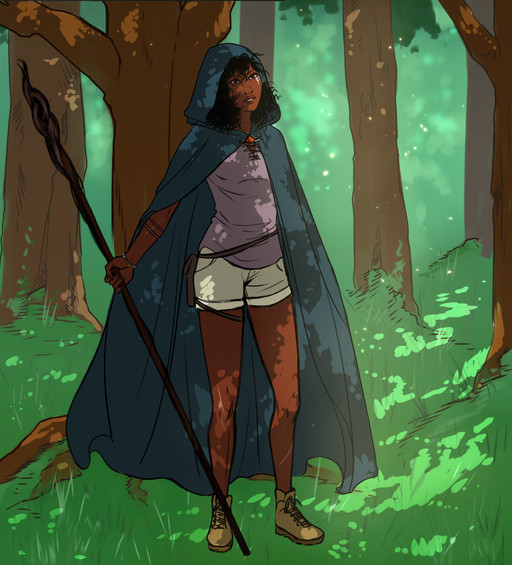 Deborah (Panel from Chapter 3 final page)