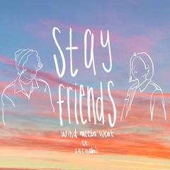 "Wind Meets West & Saenabi release ""STAY FRIENDS"""