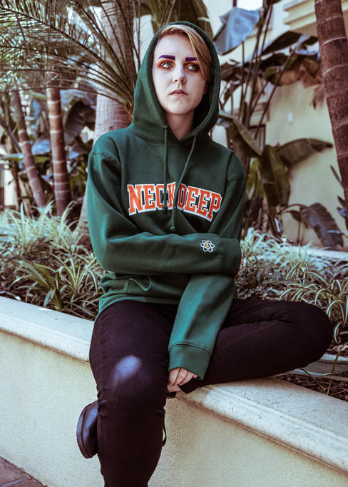 Neck Deep Hoodie Photoshoot for Hopeless Records