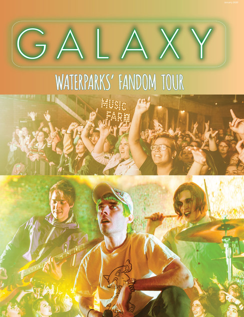 Page for Galaxy Magazine