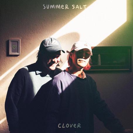 """Indie Pop duo Summer Salt releases new single """"Clover!"""""""