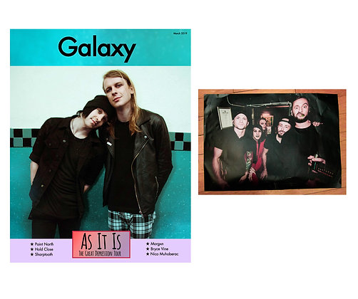 SOLD OUT!: POSTER BUNDLE Galaxy Magazine March 2019: As It Is