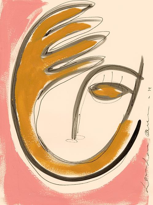 "Giclée art print ""La Conscience"""