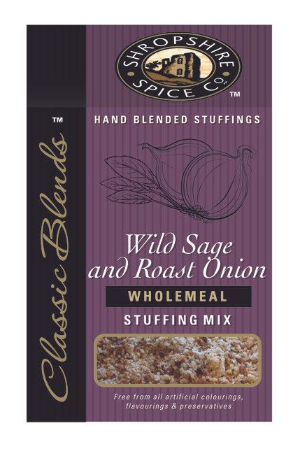 SS Wild Sage & Roast Onion GF Stuffing Mix 120g