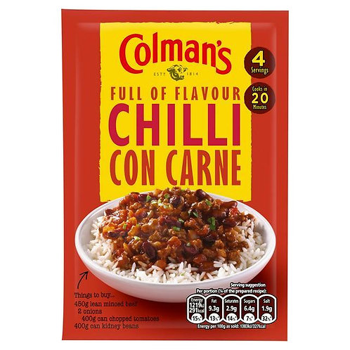Colman's Chilli Con Carne Recipe Mix | 50g
