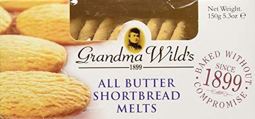 GRANDMA WILD'S BUTTER SHORTBREAD MELT | 150G