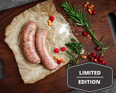 ws Orange & Cranberry  | 6 sausages