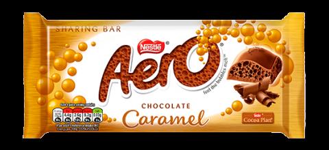 Bloc Aéro Caramel 90g