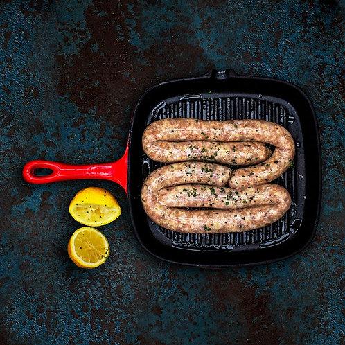 Chicken & Herb Sausage | 6 sausages per pack