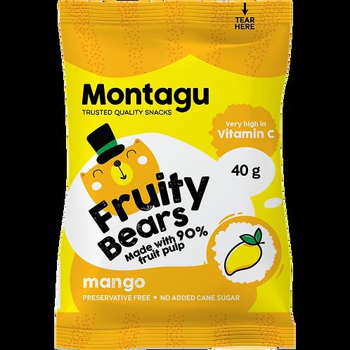 Montagu Fruity Bears Mango 40g