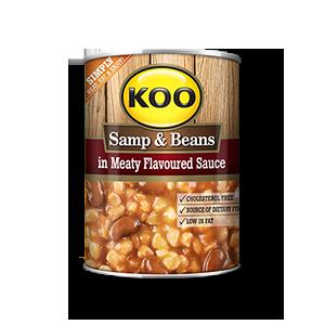 KOO Samp & Beans Meat Flavour 400g