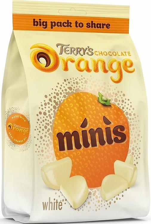 TERRY'S WHITE CHOCOLATE ORANGE BITESIZE | 140G