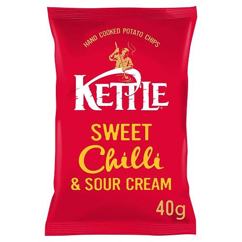 KETTLE Chips Piment Doux & Crème Aigre 40g