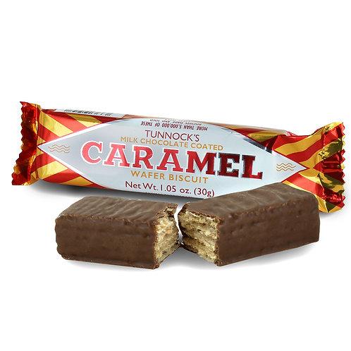 Gaufrettes Chocolat Caramel Tunnock's 30g