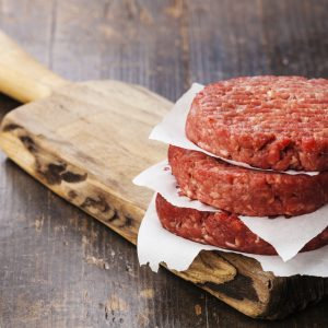 Beef Hamburger Patties  | 4 x 160g per packet