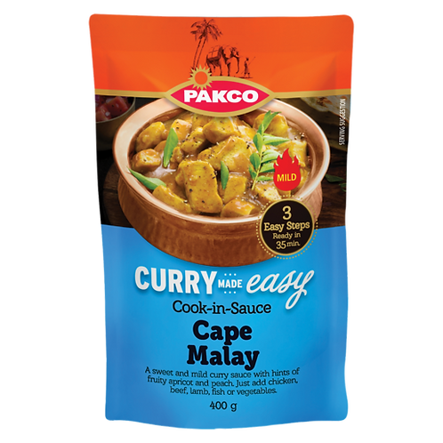 Packo Cook in Sauce Cape Malay | 400g