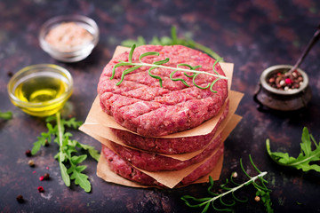 gs Lamb Hamburger Patties | 4 x 160g per packet