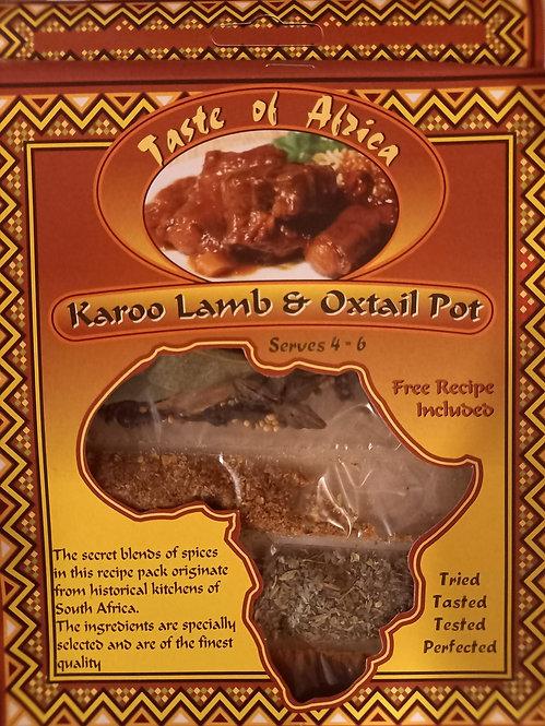 TOA Karoo Lamb & Oxtail Pot   60g