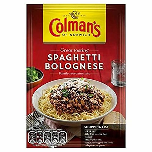 Colman's Spaghetti Bolognese Recipe Mix | 44g