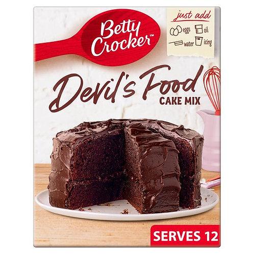 Betty Crocker Devils Food Cake Mix 425g