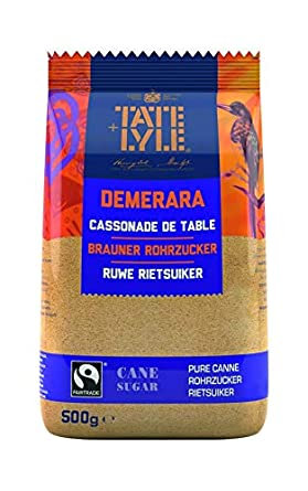 Tate & Lyle Demerara Pure Cane Sugar 500g