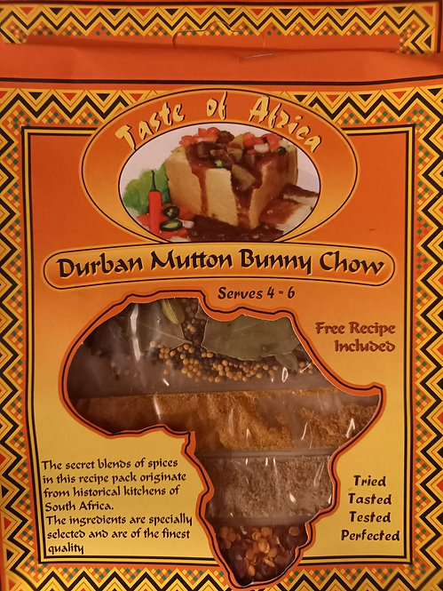 TOA Durban Mutton Bunny Chow | 60g