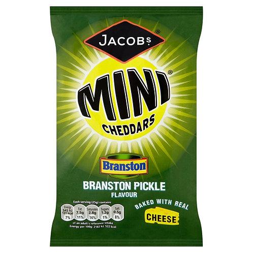 Jacobs Mini Cheddars, Branston Pickle Flavour