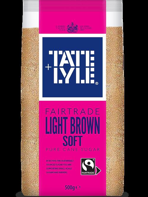 Tate & Lyle Light Brown Soft Pure Cane Sugar 500g