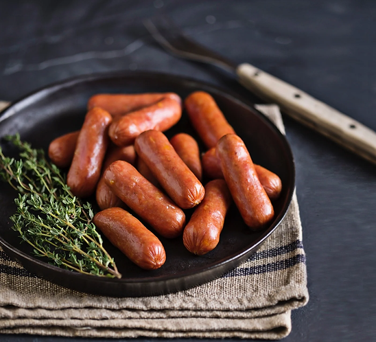 Wild Boar Cheese Grillers | 4 sausages to the packet