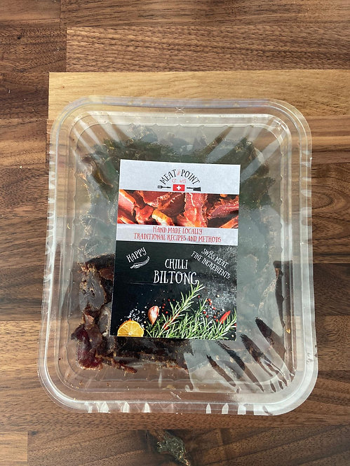 Meat Point Chili Sliced Traditional Beef Biltong | 150g