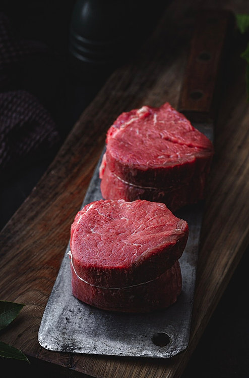 ws Fillet Steak   500g+- per steak