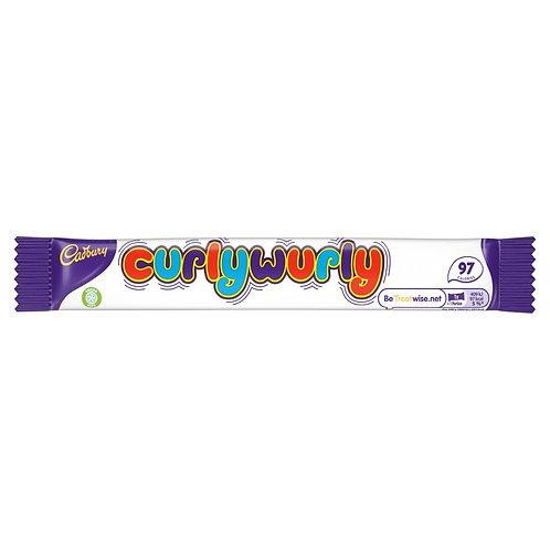 Cadbury Curly Wurly Chocolate Bar 21.5g