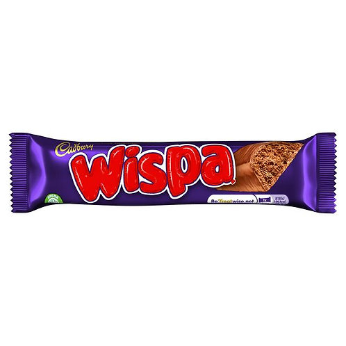 Barre de chocolat Cadbury Wispa   36g